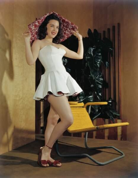 ... la comédienne Margaret Kerry