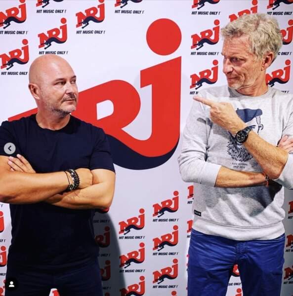 Cauet et Denis Brogniart s'amusent moins : ils ont repris le boulot !