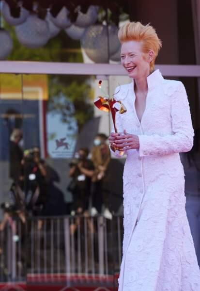 Tilda Swinton, invitée d'honneur du Festival