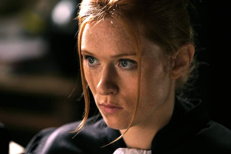 Un peu comme son personnage, l'ambitieuse avocate, Joséphine Karslon