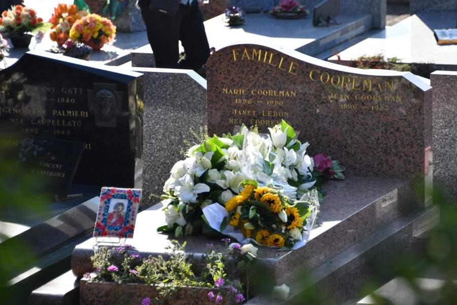 La tombe d'Annie Cordy