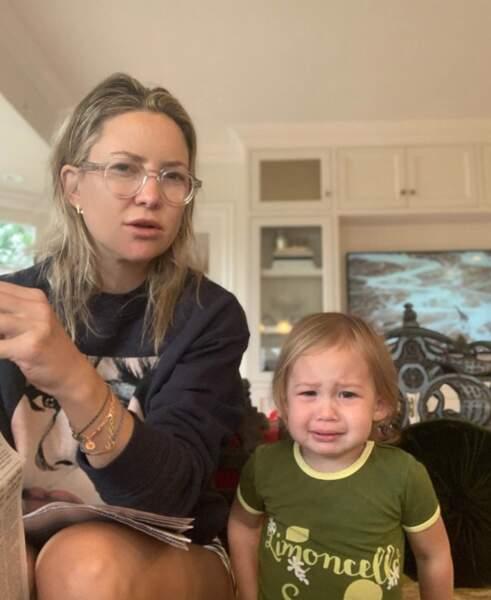Rani, la fille de Kate Hudson, n'était pas d'humeur.