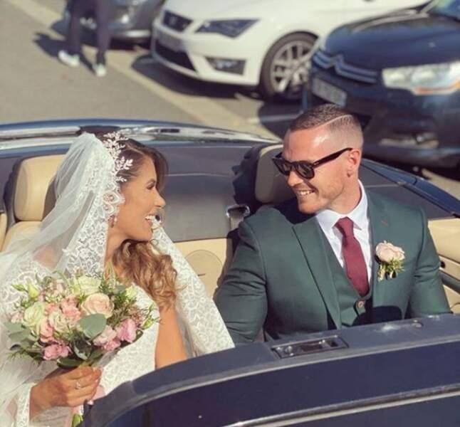 Oliver a posté une superbe photo de son mariage avec Wafa