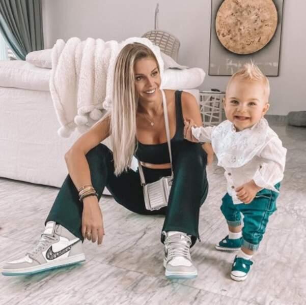 Maylone, le bébé de Jessica Thivenin, a toujours le smile.