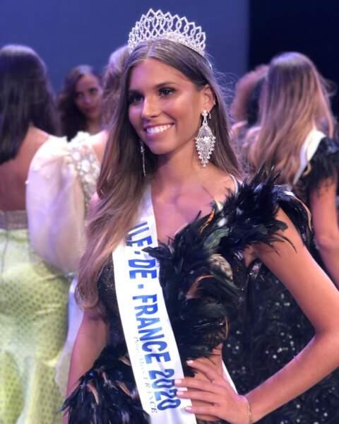 Lara Lourenço, élue Miss Ile-de-France à seulement 18 ans