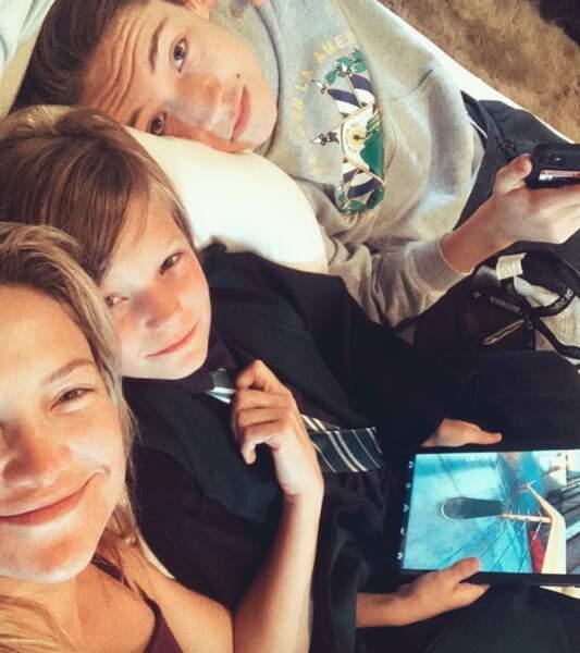 Voici Ryder et Bingham, les fils de Kate Hudson.