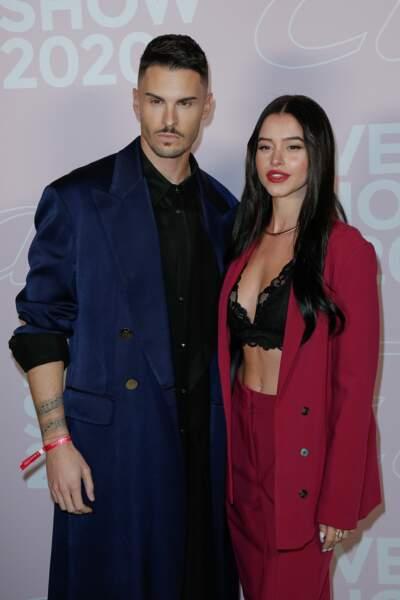 Baptiste Giabiconi et Lea Elui