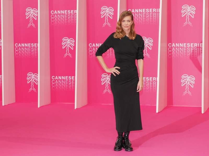 Celine Sallette pour la cérémonie d'ouverture du festival