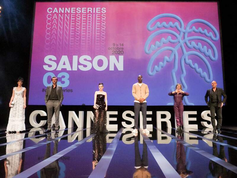 Le jury du festival Canneseries 2020