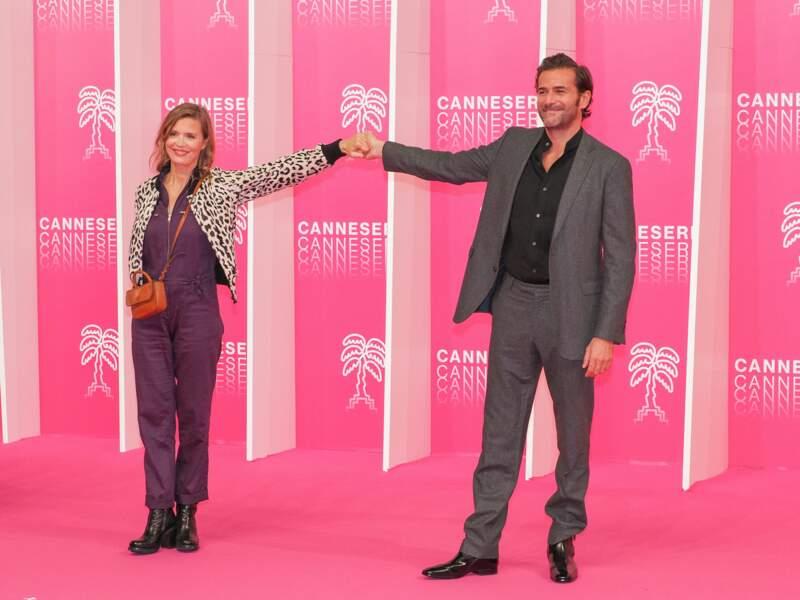 Caroline Proust et Gregory Fitoussi pour l'ouverture du festival
