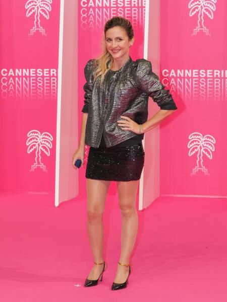 Camille Chamoux était aussi présente pour la cérémonie d'ouverture