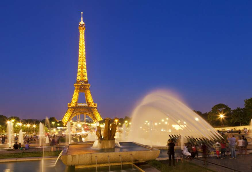 Vue magique de Paris by night !