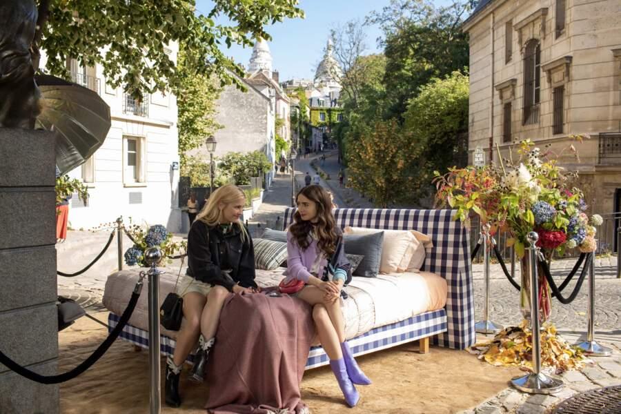 Ah... Montmartre et sa place Dalida ! Ça mérite bien une petite pause non ?!