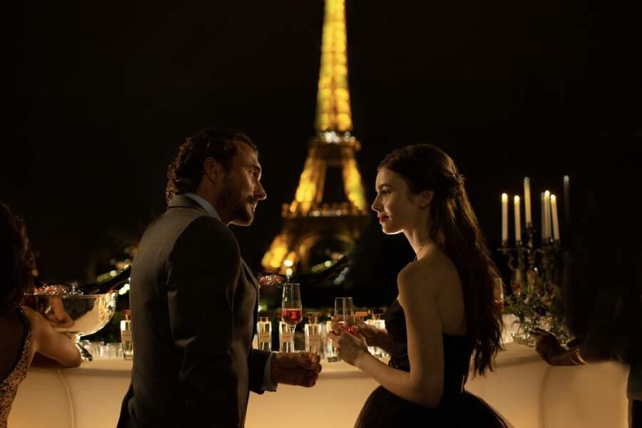 La Tour Eiffel en toile de fond... so romantic !