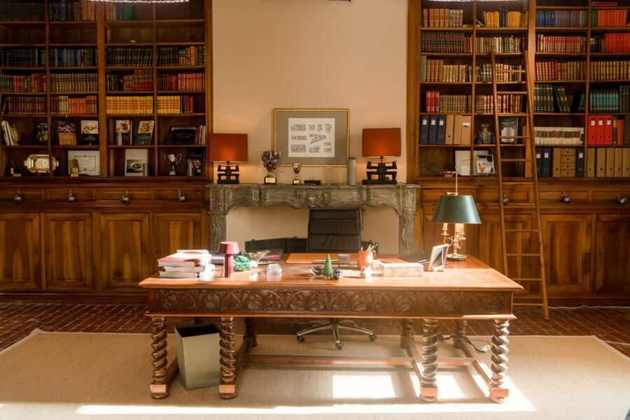 Voici le bureau d'Auguste Armand, le fondateur de l'école !