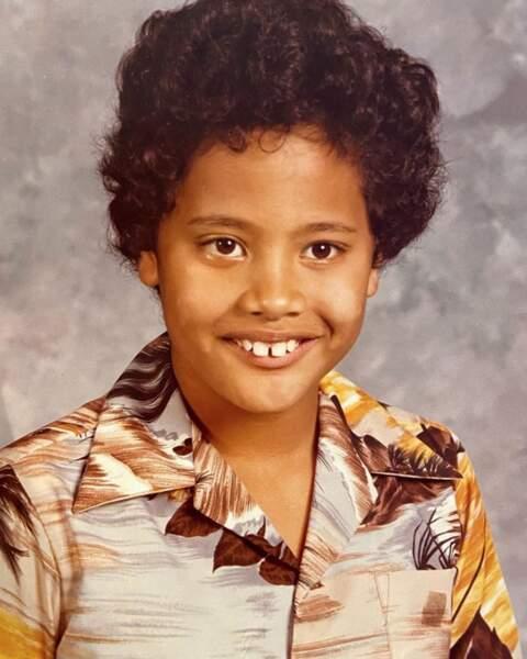 On ne pouvait pas partager avec vous cette photo d'enfance de The Rock. Collector !