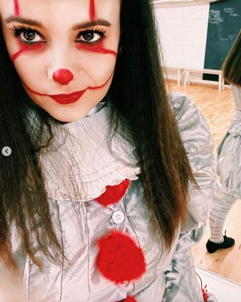 Et que dire d'Alizée en clown maléfique ?