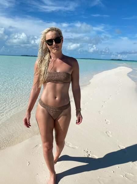 Quelques bikinis : celui de la skieuse Lindsey Vonn...