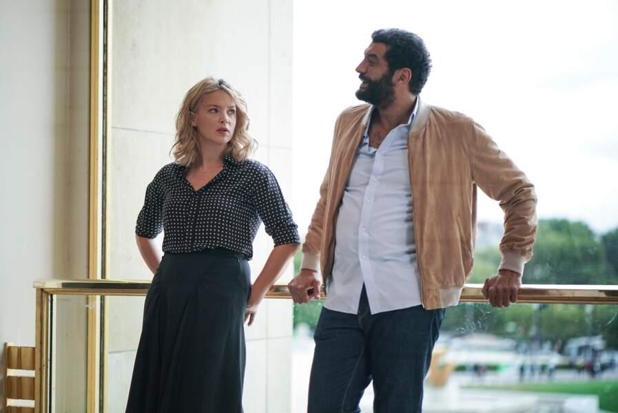 Autre duo de choc : Virginie Effira et Ramzy Bedia venus ouvrir la saison 2 de Dix pour cent