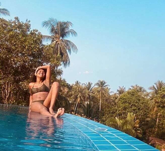 Passionnée de voyages, elle partage régulièrement à ses 24 000 abonnés de superbes photos