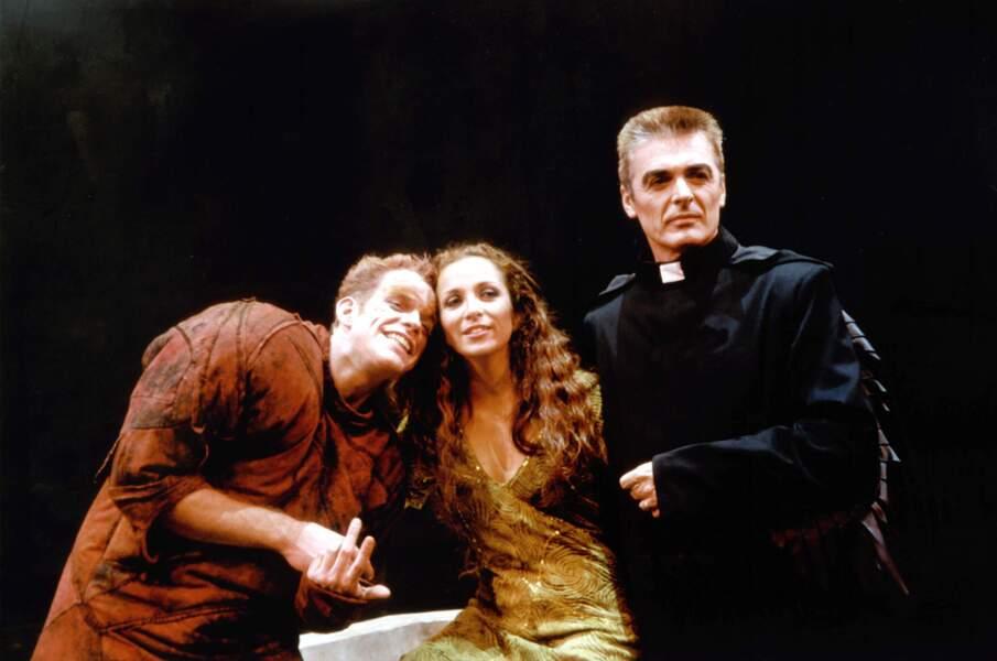 A leur côté, en 1998 : Daniel Lavoie, alias Frollo.
