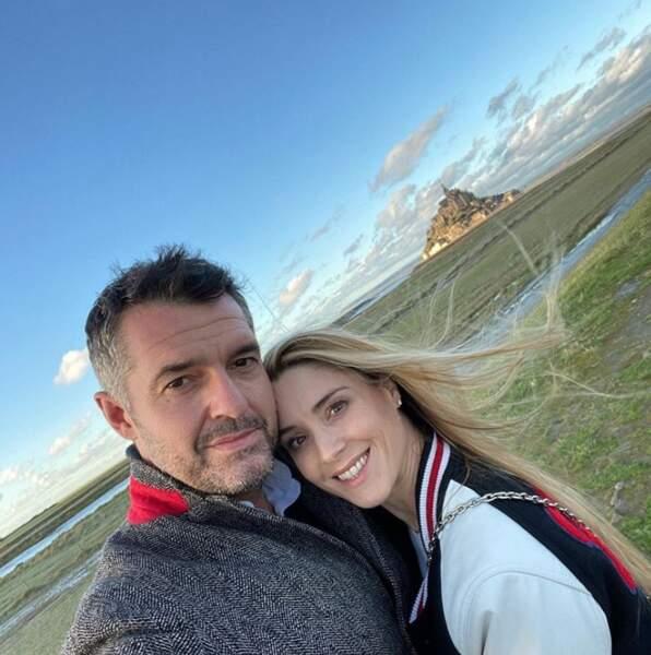 De même du côté d'Arnaud Ducret et sa compagne Claire.