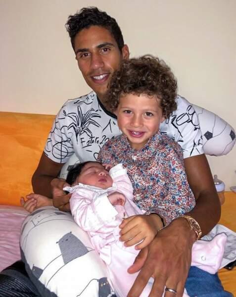 Toutes nos félicitations à Raphaël Varane, papa pour la deuxième fois ! Le bébé est une fille et se prénomme Anaïs.