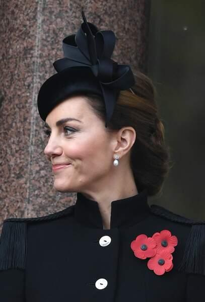 Malgré la gravité de l'événement, Kate Middleton était de fort bonne humeur
