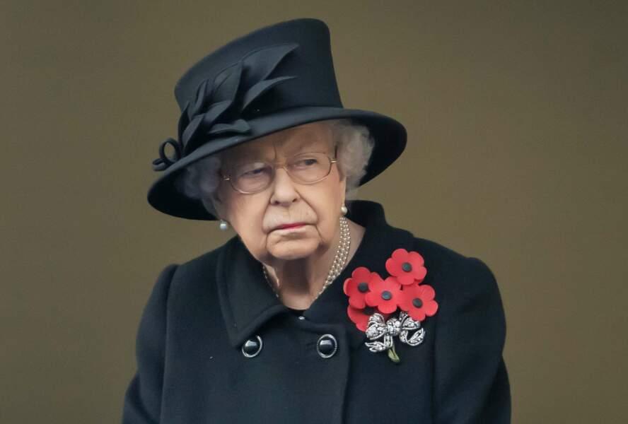 La reine Elizabeth II a bien évidemment présidé la cérémonie