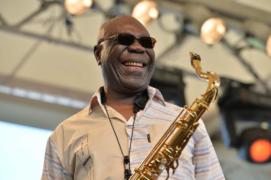 Manu Dibango, saxophoniste, disparu le 24 mars à 86 ans