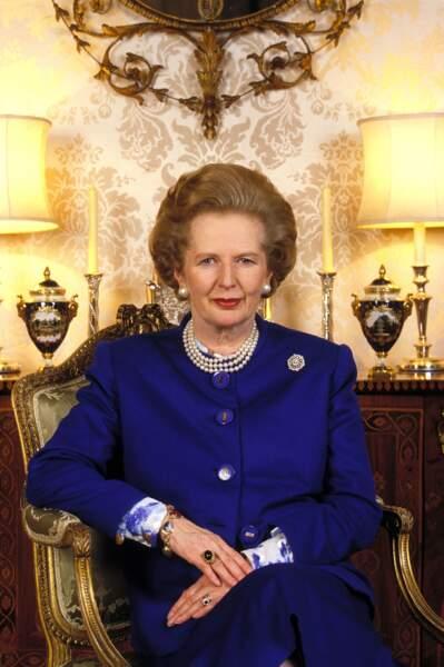 Margaret Thatcher, première femme à la tête du gouvernement