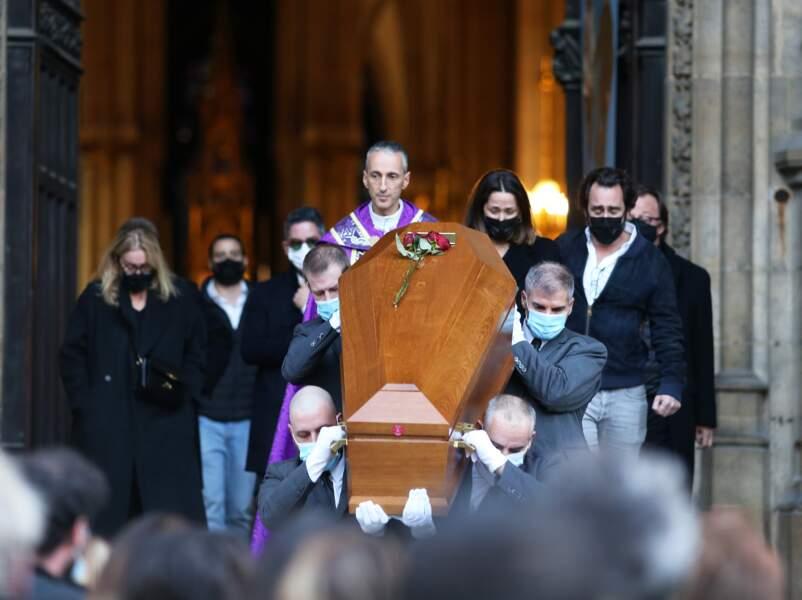 Obsèques de Cyril Colbeau-Justin