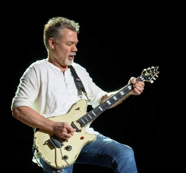Eddie Van Halen, guitariste, disparu le 6 octobre à 65 ans