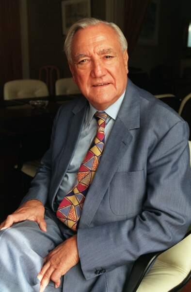 Christian Poncelet, homme politique, disparu le 11 septembre à 92 ans
