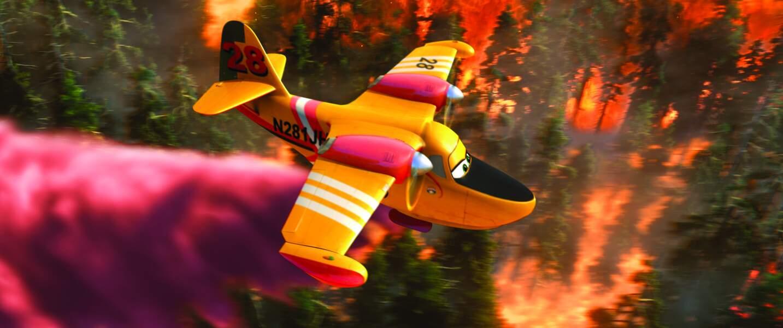 """Dans """"Planes 2"""", Lil' Dipper s'est enorgueillie d'avoir deux stars du petit écran rien que pour elle !"""