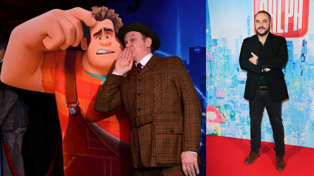 """Ne le répétez pas, mais John C. Reilly et François-Xavier Demaison ont tout deux incarné le héros des """"Mondes de Ralph"""""""