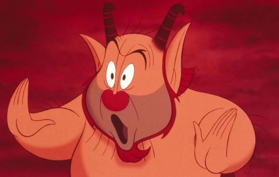 """Vous ne trouvez pas que Philoctète, dans """"Hercule"""", a des faux airs de..."""