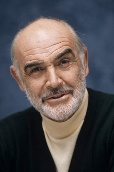 Sean Connery, comédien, disparu le 31 octobre à 90 ans