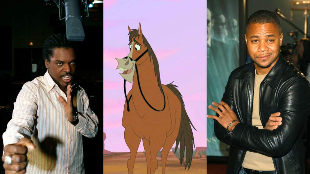 """Le fougueux Buck (""""La ferme se rebelle"""") est doublé par Anthony Kavanagh et Cuba Gooding Jr. Rien que ça !"""