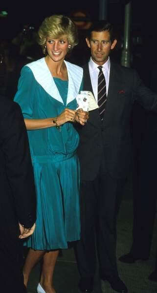Juillet 1983. Diana et Charles assistent à un concert de Duran Duran au Dominion Theatre.