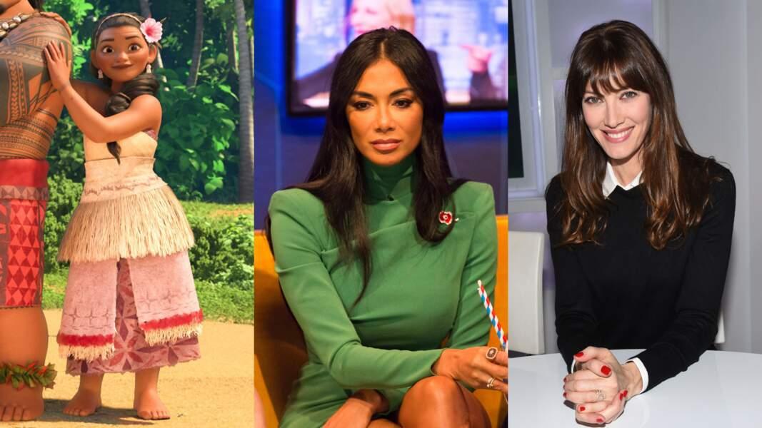 Pour incarner Sina, la maman de Vaiana, deux personnalités très différentes : Nicole Scherzinger et Mareva Galanter. Pourquoi pas ?