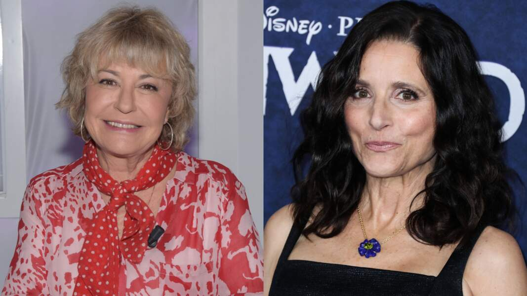 Marie Vincent et Julia Louis-Dreyfus ont deux points communs : jouer dans des séries à succès...