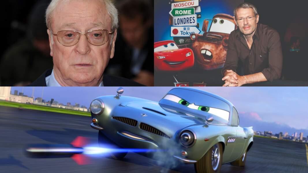"""Il fallait le flegme de Michael Caine et Lambert Wilson pour donner vie à Finn McMissile dans """"Cars 2"""""""