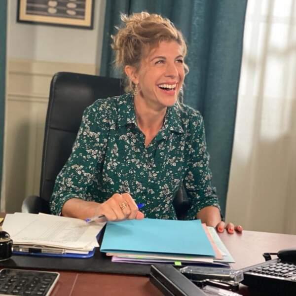 Juliette Tresanini est passionnée par son travail et a toujours le sourire