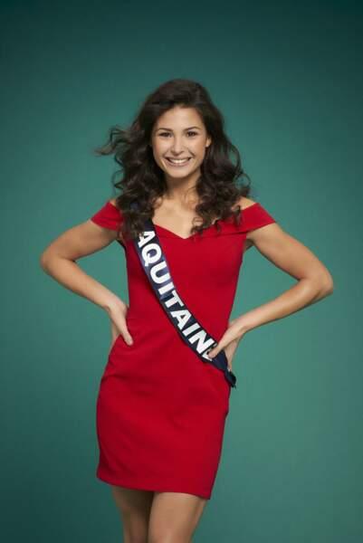 Miss Aquitaine, Leila Veslard