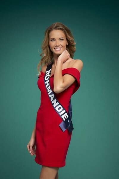 Miss Normandie, Amandine Petit
