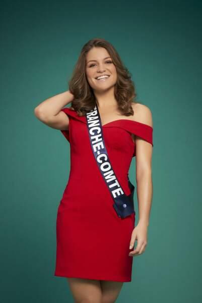 Miss Franche-Comté, Coralie Gandelin