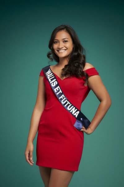 Miss Wallis-Et-Futuna, Mylene Halemai