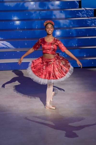 Aaliya, 15 ans, danse