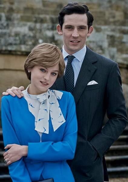 """Reconstitution du mariage, des costumes à la reproduction de l'interview et de la terrible phrase de Charles: """"Whatever Love Means""""."""